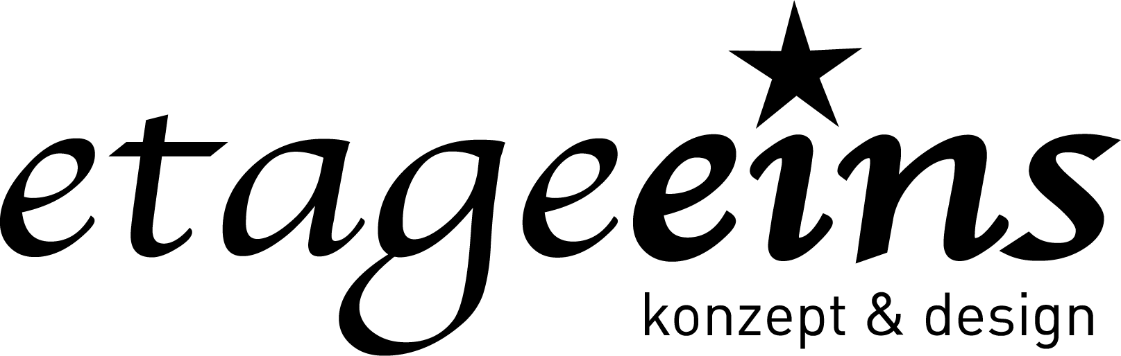 etageeins – konzept & design